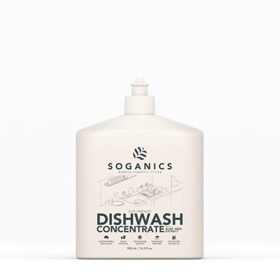 Picture of SOGANICS Dishwash น้ำยาล้างจาน โซแกนิคส์ พร้อมสารสกัดจากอโลเวร่า