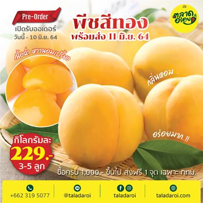 Picture of ลูกพีชสีทอง PEACH  หวาน หอม อร่อย  ( 1 กิโลกรัม )